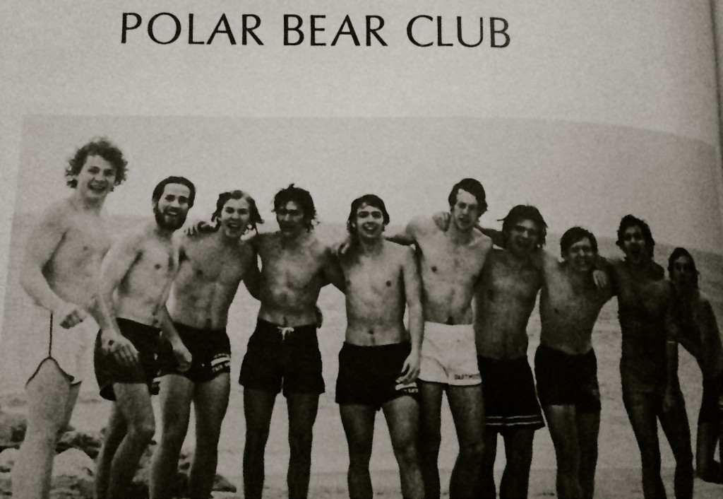 RFH Polar Bear Club circa 1970s.  Photo/RFH yearbook