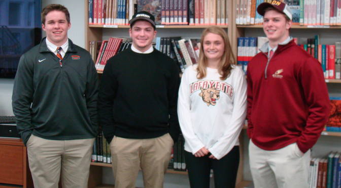 RFH Athletes' Letters of Intent Signed