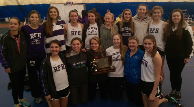 RFH Girls Winter Track Team Scores Big