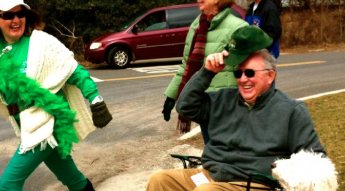 Retro Ode to Rumson's St. Paddy's Day Parade