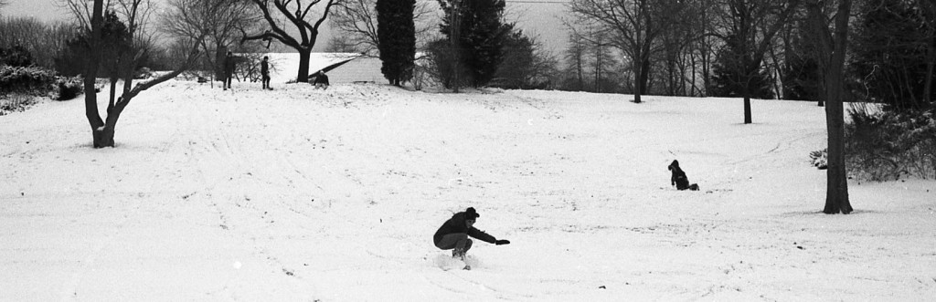 Snow day fun for RFHers in the 1970s. Photo/George Day