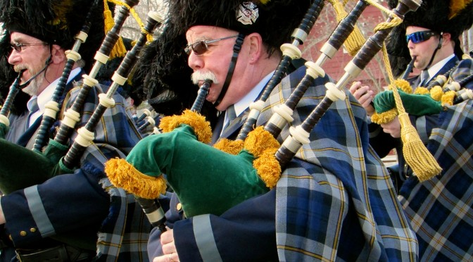 High Steppin' into Rumson St. Patrick's Day Parade 2015
