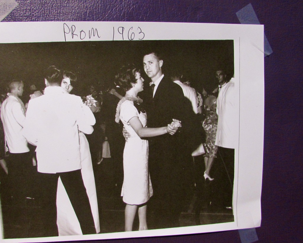 George Giffin dancing at the 1963 prom Photo/courtesy of Debra Giffin Schluter