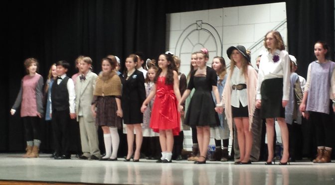 Sun Shines on Forrestdale's Production of 'Annie jr.'