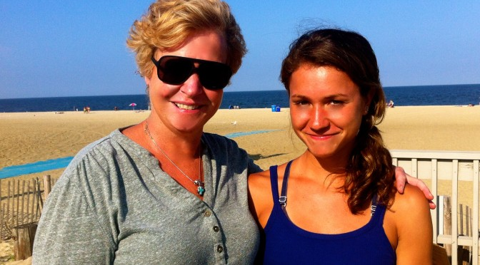 Simple Summer: Rumson Mom-Daughter Beach Walk Bonding