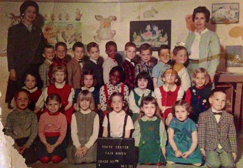 Fair Haven afternoon Kindergarten Class of 1965 ... There! I said it!