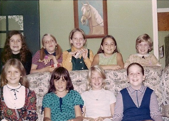 Fair Haven buddies from the RFH Class of 1980 in 1971 Photo/courtesy of Sandi Richards VonPier