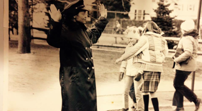 Happy Birthday & Retro Look at an Iconic Crossing Guard