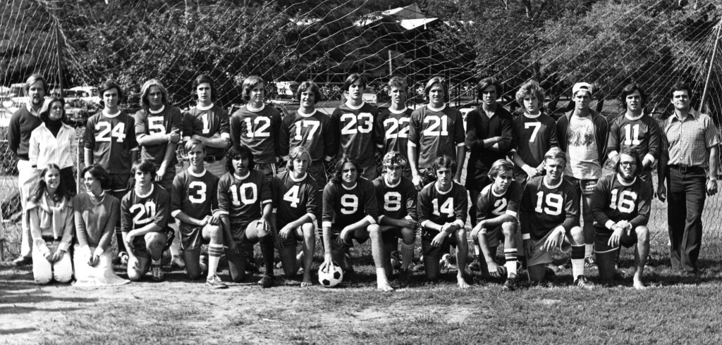 RFH Boys Soccer Team of 1977-78 Photo/George Day