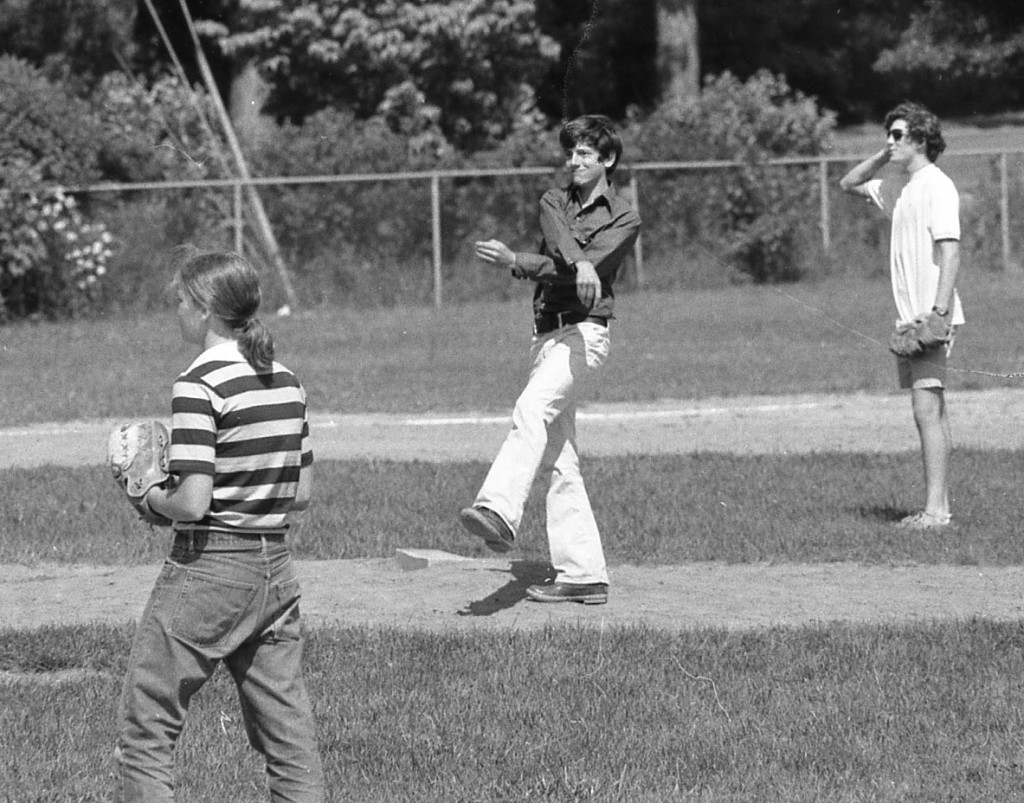 RFH Class of '78 alumni Nancy Whelchel was the first girl to play on the boys' baseball team. Photo/George Day