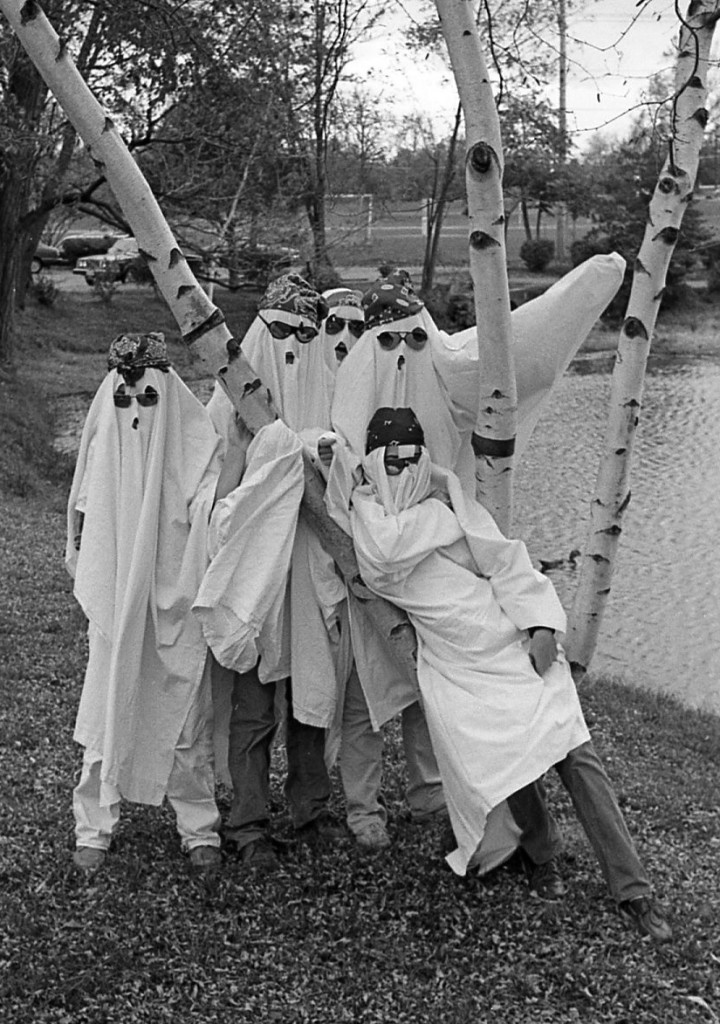 An RFH ghostly gathering on Halloween in 1977 Photo/George Day