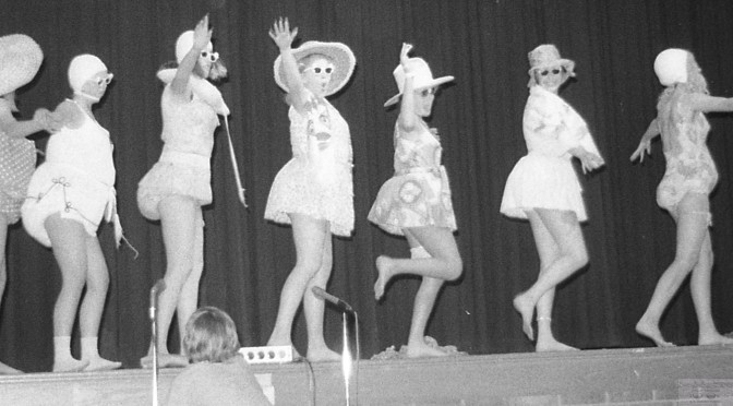 Retro Winter Warmth with RFH Clowns on the Beach