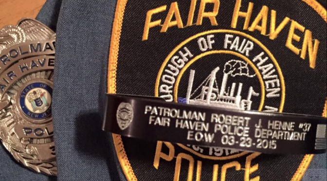 Remembering Fair Haven's Patrolman Robert J. Henne