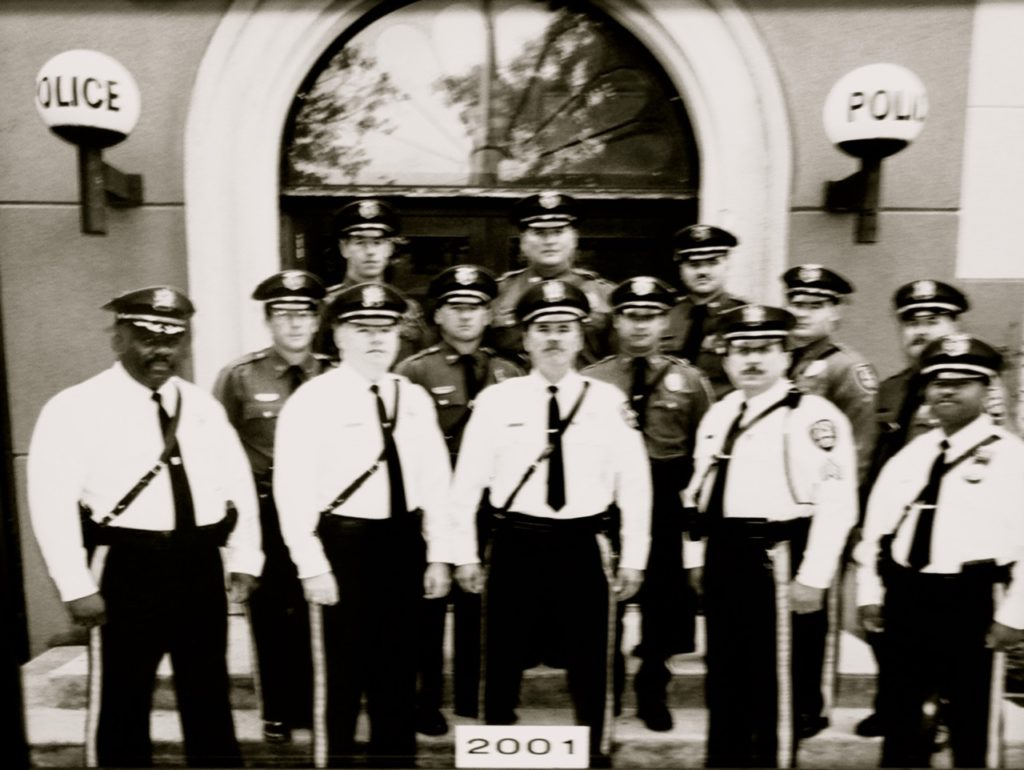 Fair Haven PD in 2001 Photo/FHPD