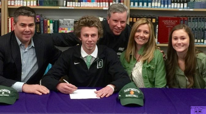 RFH Basketball Star Brendan Barry Signs with Dartmouth