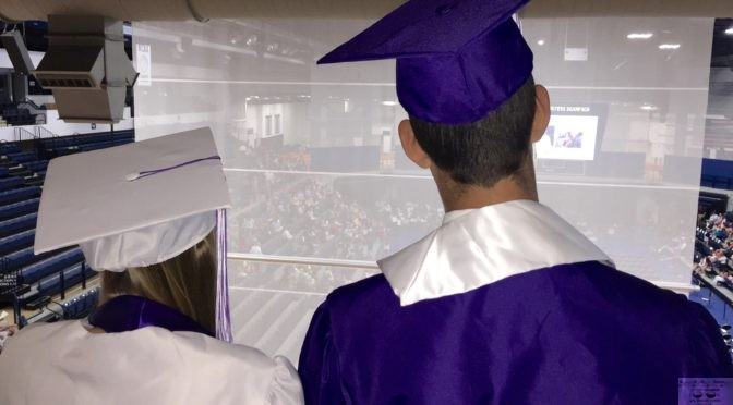 Focus: Backstage at RFH Graduation
