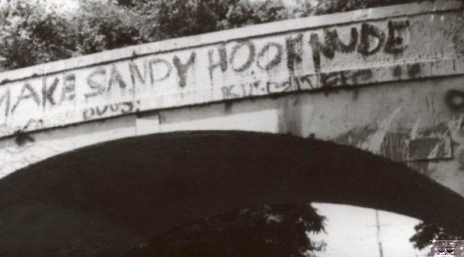 Retro Sandy Hook Bridge Plea