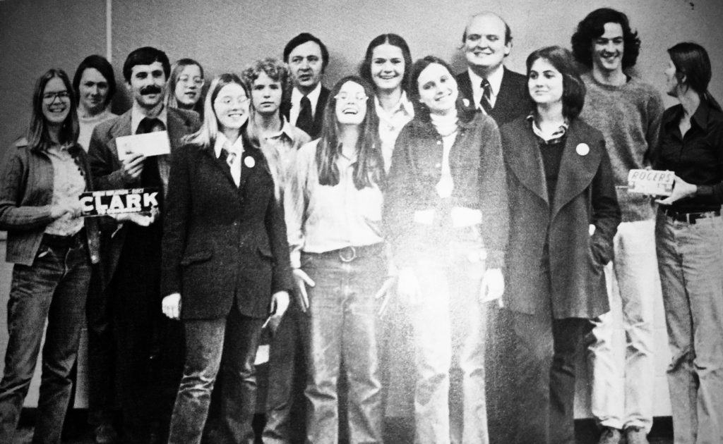 RFH Political Science Club of 1974-75 Photo/RFH Yearbook