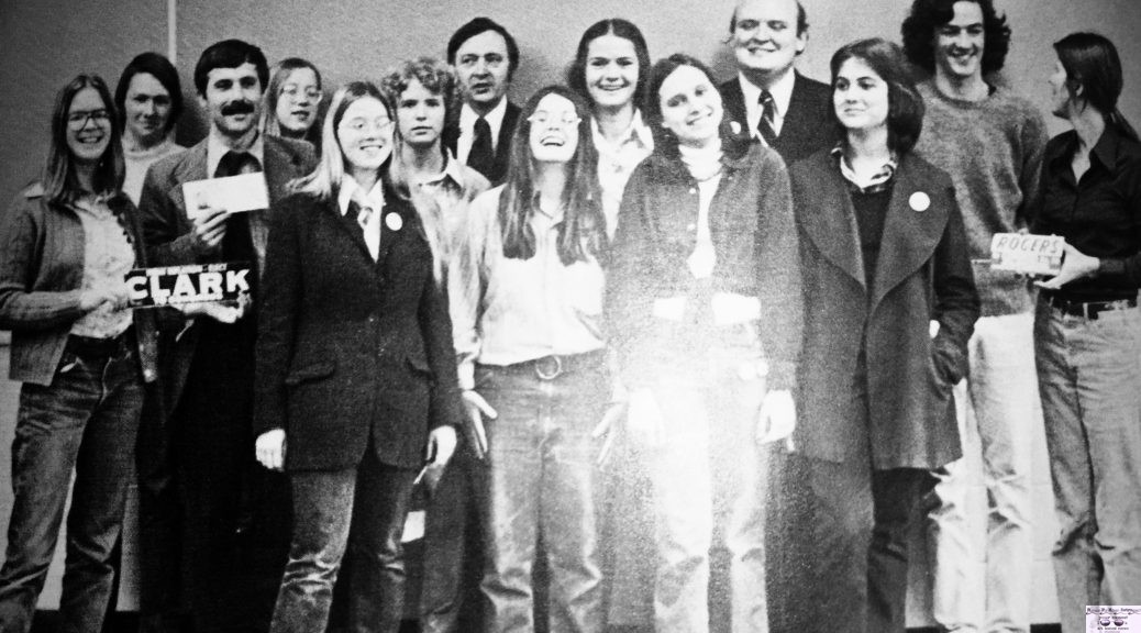 RFH Political Club of 1974-75 Photo/RFH Yearbook