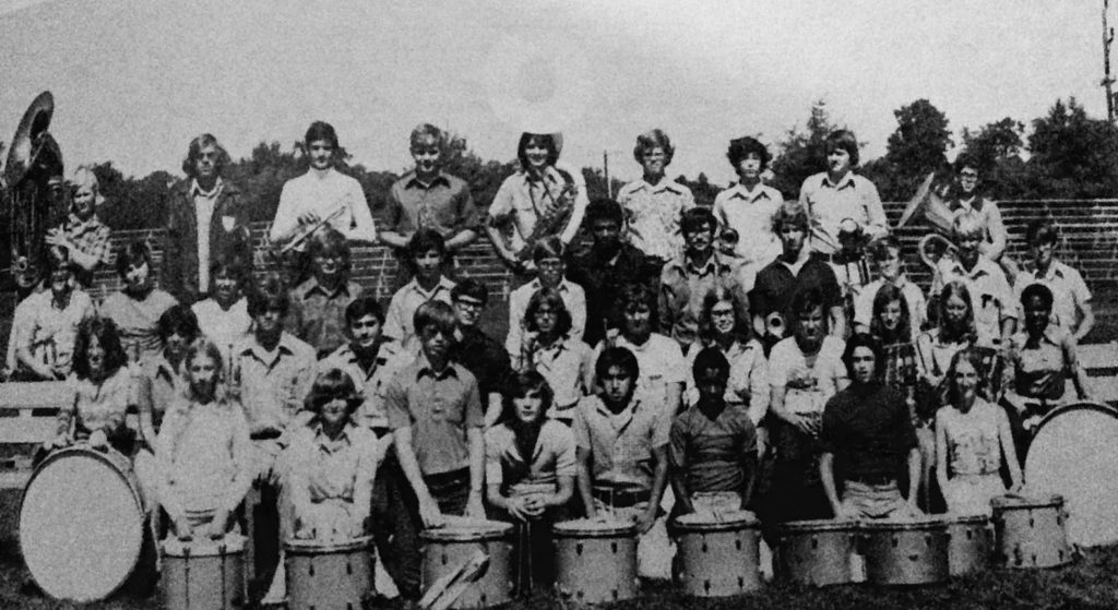 RFH Marching Band circa 1970s Photo/RFH Yearbook