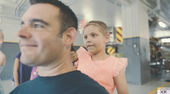 Fair Haven Cop Getting a Shave for a Good Cause