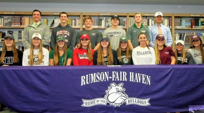 RFH Student Athletes' National Signing Day