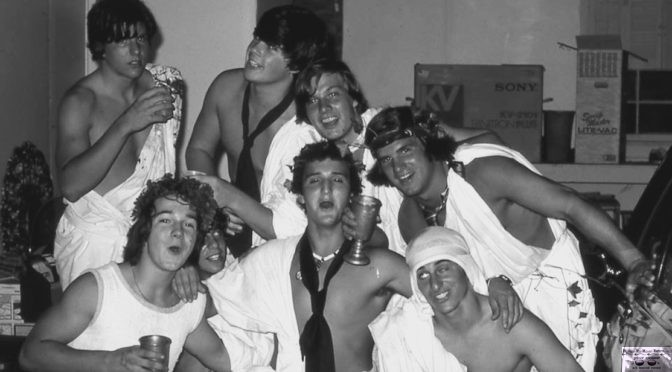 Retro RFH Toga Party Time