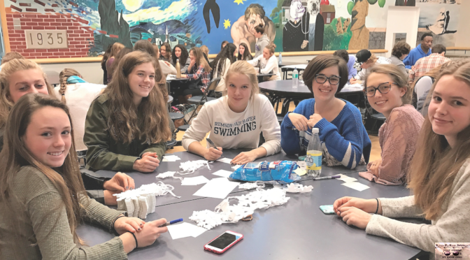 RFH's Global Empowerment Club's Holiday Snowflake Drive Benefits 180
