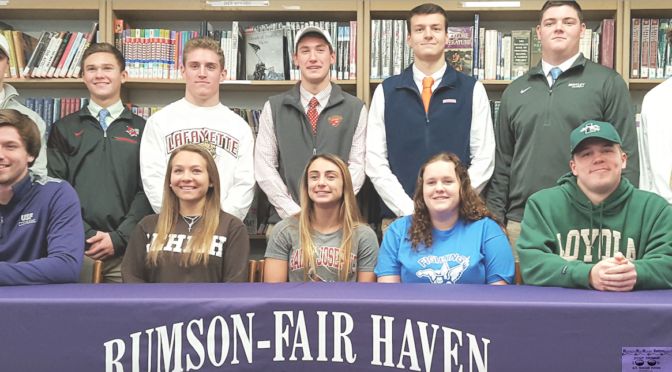 RFH Scholar Athlete's National Signing Day