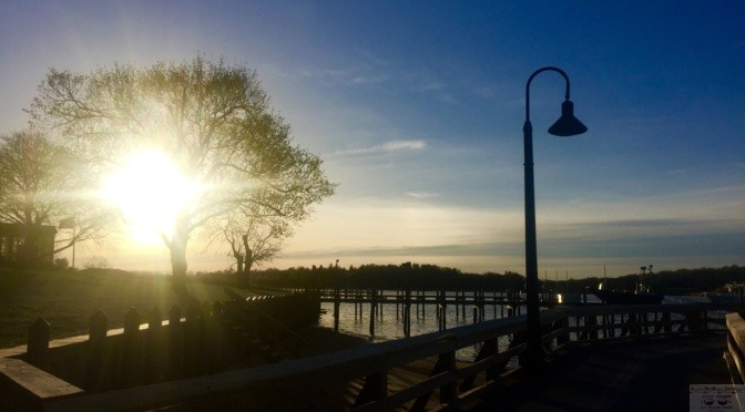 Focus: Solitude & Dusk at Fair Haven Dock