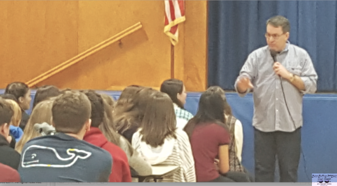 Knollwood Students Get a Glimpse into the Life of an Author