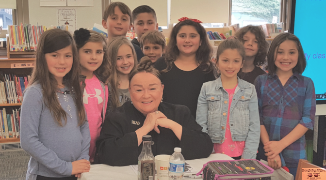 Fair Haven Students' Visit with a Famous Author