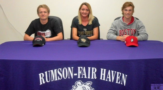 RFH Scholar Athletes Sign Letters of Intent