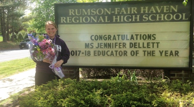 Jen Dellett: RFH's Teacher of the Year
