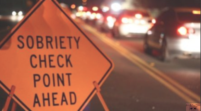 DWI Checkpoint Set for Friday Night
