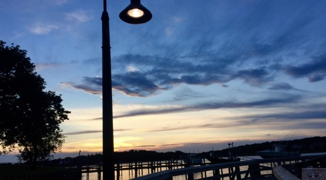 Focus: It's Another Fair Haven Dock Sunset
