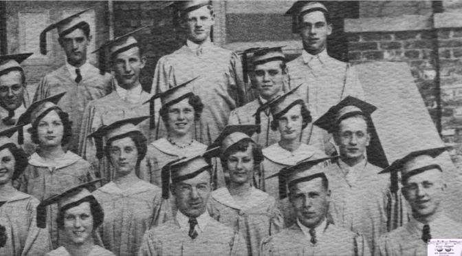 Retro Rumson High Class of 1935 Pic