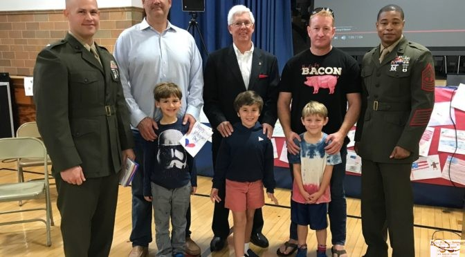 Lessons Learned: Sickles School's Veterans Day Ceremony
