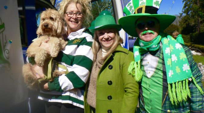 Focus: Parader's View of the Rumson St. Patrick's Day Parade