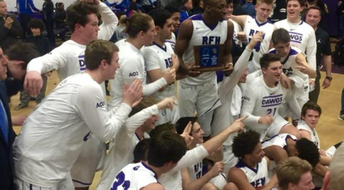 Scene Around: A Triumphant RFH Boys Basketball Win