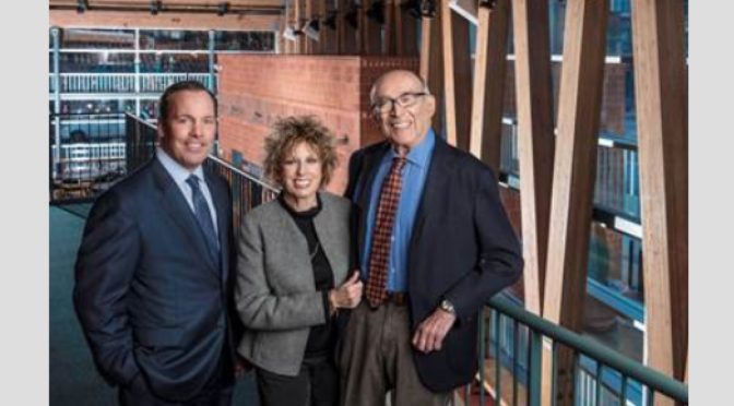 $5 Million Donated to Riverview by Two River Theater Founders Robert & Joan Rechnitz