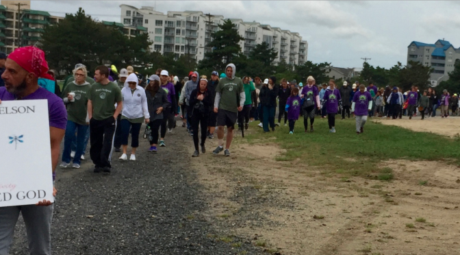A Mourning Walk for Maddy Massabni & Many Others