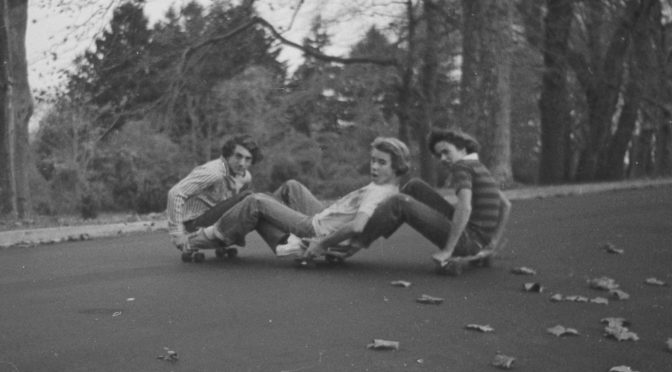 A Retro Fall for Three RFH Guys and a Skateboard